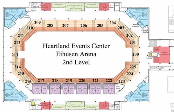 Details Amp Floor Plans Heartland Events Center Official