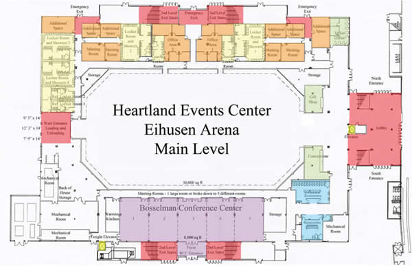Details amp Floor Plans Heartland Events Center Official