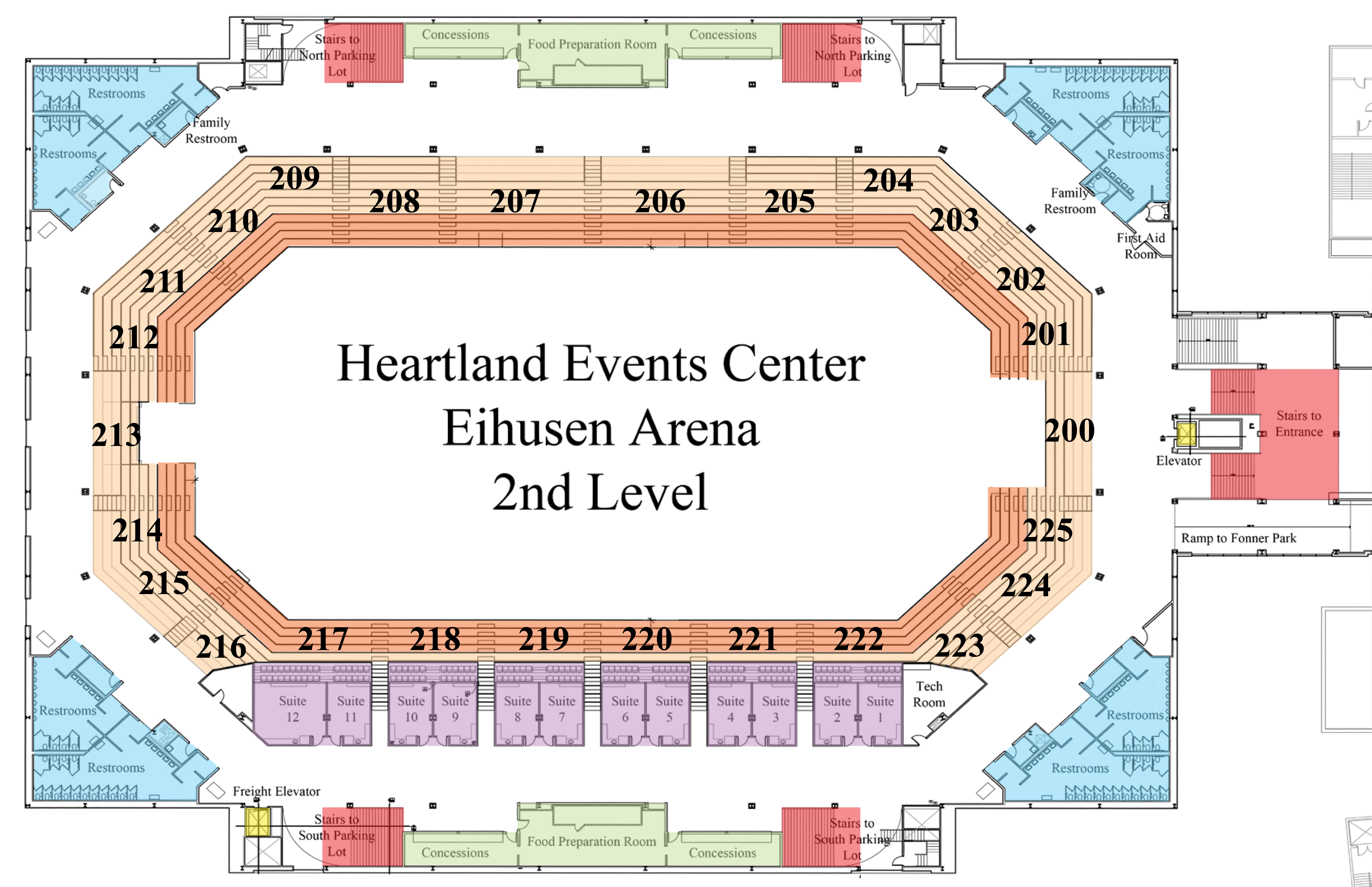 Heartland Event Center Grand Island Ne Seating Chart