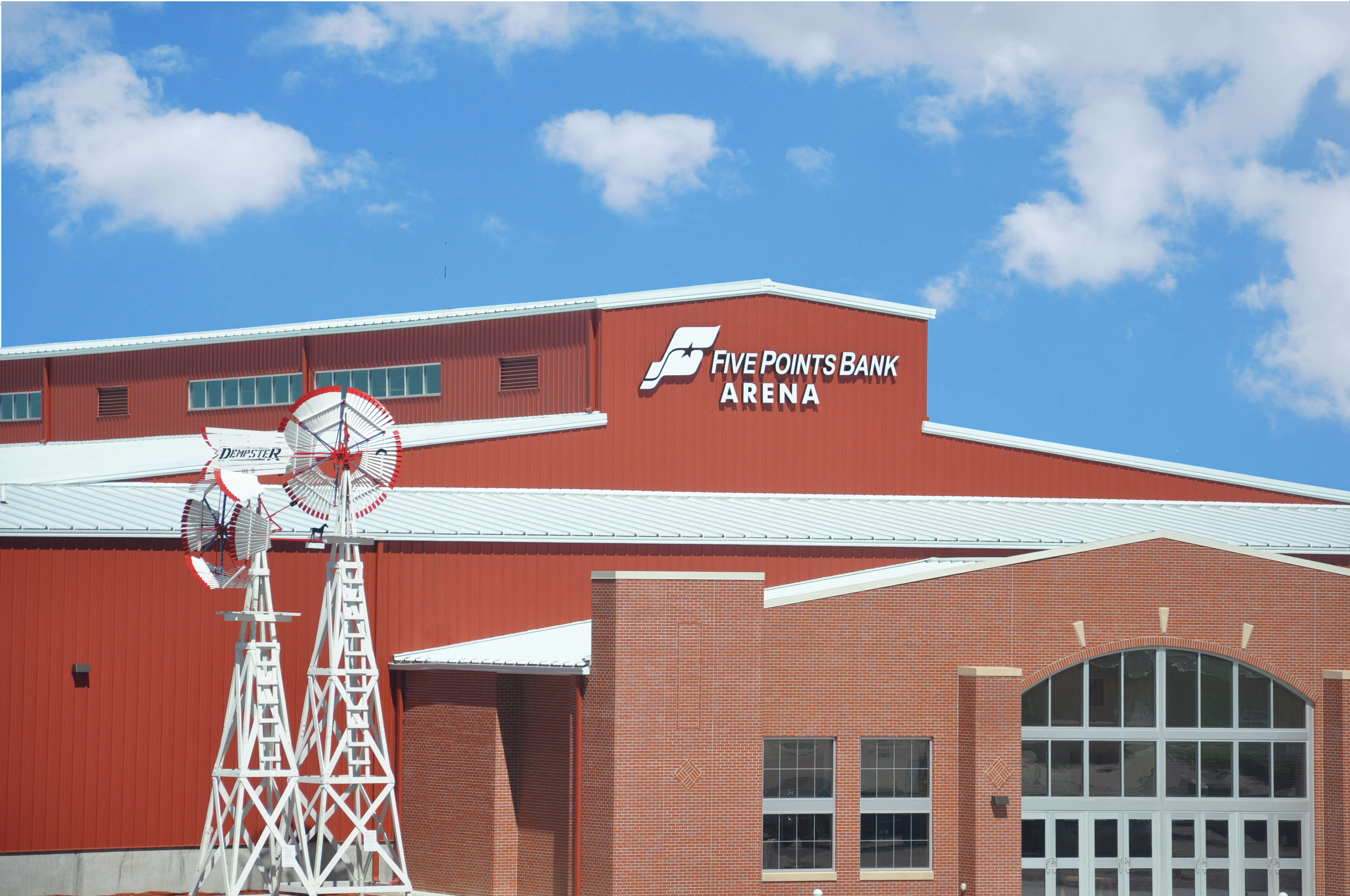 Five Points Bank Arena | Heartland Events Center ...
