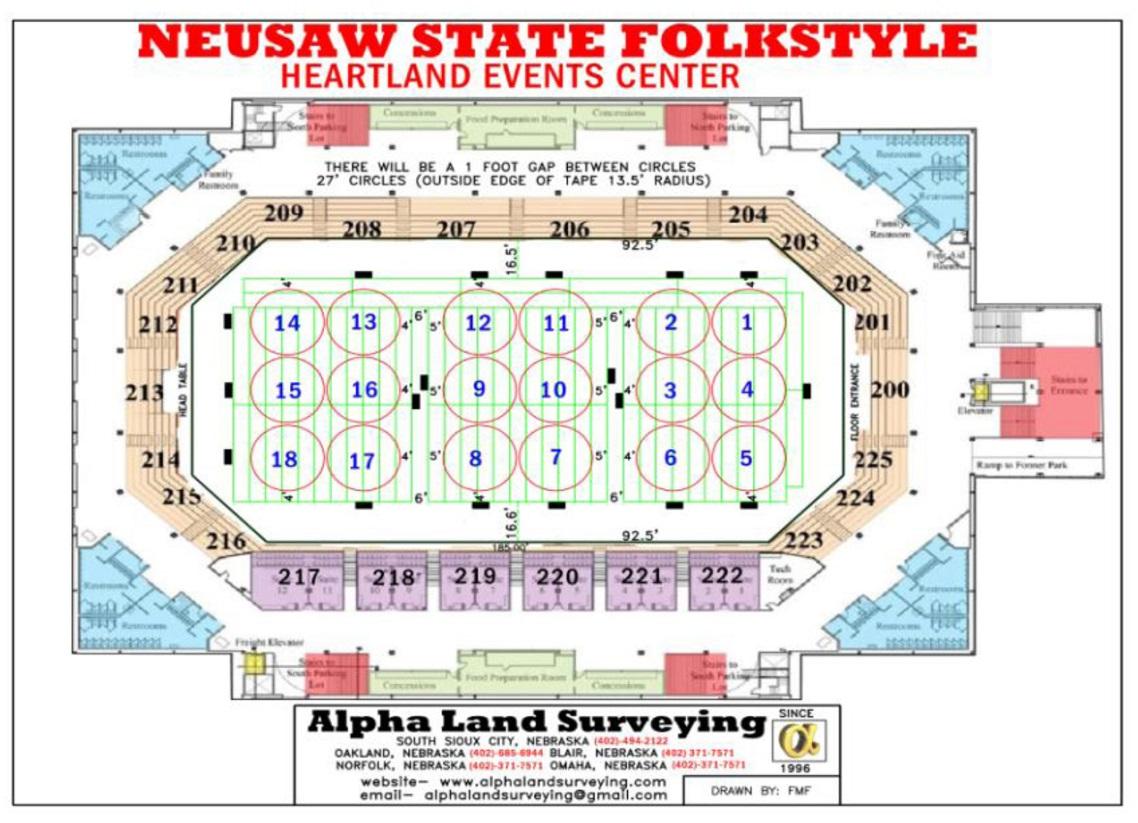 2019 Nebraska Usa Wrestling State Folkstyle Tournament Heartland